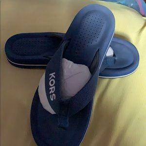 Michael Kors flip flops worn once but still good